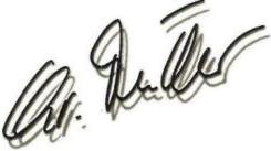 Christine Unterschrift