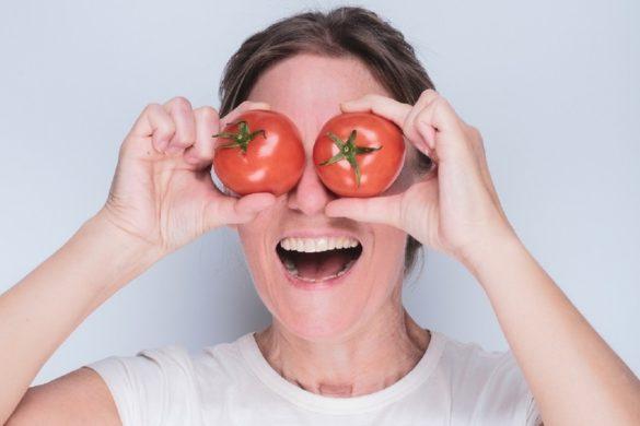 Noch Tomaten auf den Augen